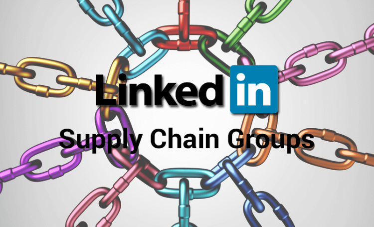 LinkedIn supply chain groups